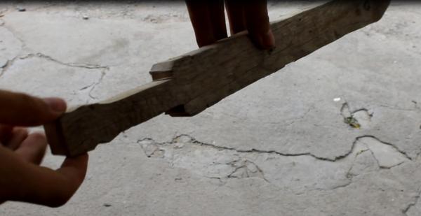 деревянный меч своими руками