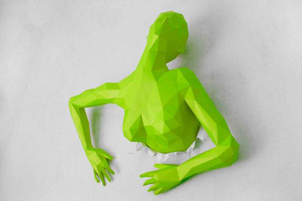 скульптура из бумаги своими руками