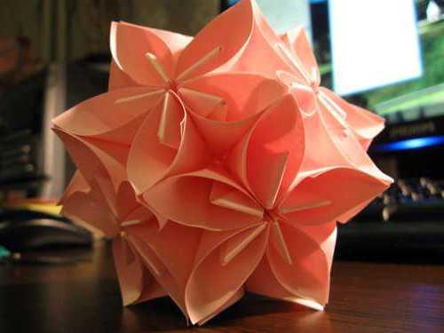 Оригами шарики из бумаги своими руками 152