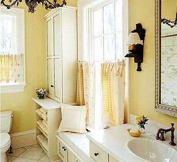 ванных комнат маленького размера