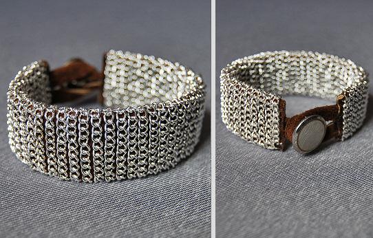 Повторяем потрясающий браслет Шанель своими руками из жемчуга