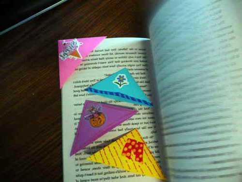 Закладки для книг из бумаги: ihandmader