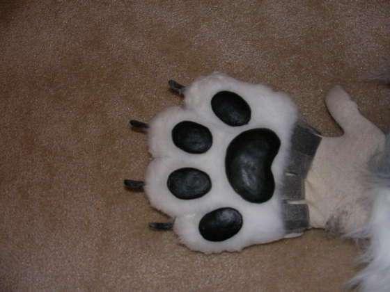 Как сделать перчатки с когтями фото 783