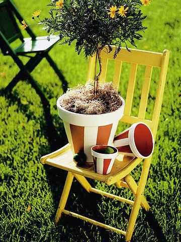 Декор сада своими руками из подручных
