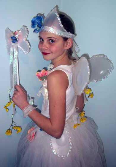 Новогодние детские костюмы своими руками — костюм феи