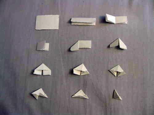 лебедь из бумаги своими руками