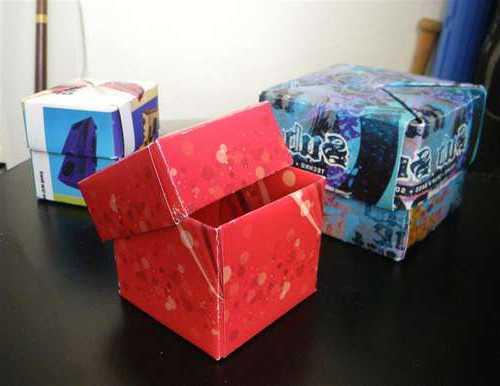Оригами коробочки из бумаги