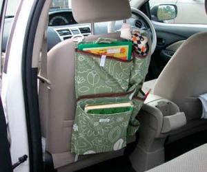 Cумка-органайзер на сиденье автомобиля своими руками
