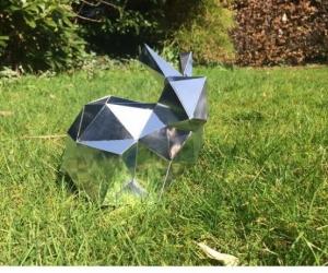 Бумажная модель кролика
