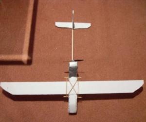 Модель планера своими руками с возможностью радиоуправления