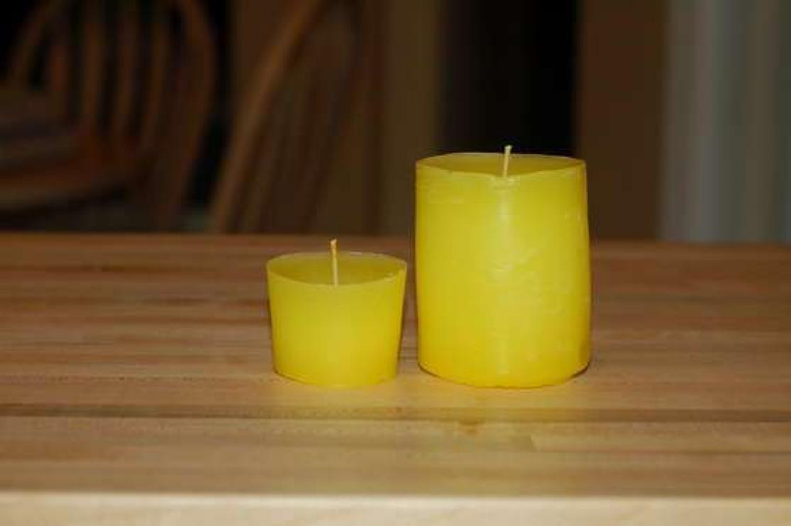 Свеча из воска своими руками мастер класс 65