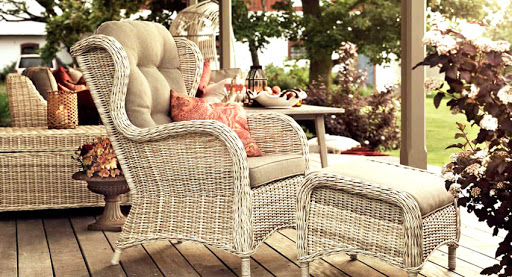 плетённая мебель