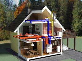 вентиляция для загородного дома